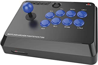 $50 » Mayflash F300 Arcade Fight Stick Joystick for PS4 PS3 XBOX ONE XBOX 360 PC Switch NeoGeo mini (Renewed)