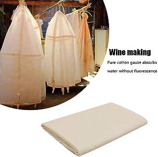 Tela de Queso, Tela de Muselina 100 algodón orgánico - 40s Filtro de algodón Ultrafino