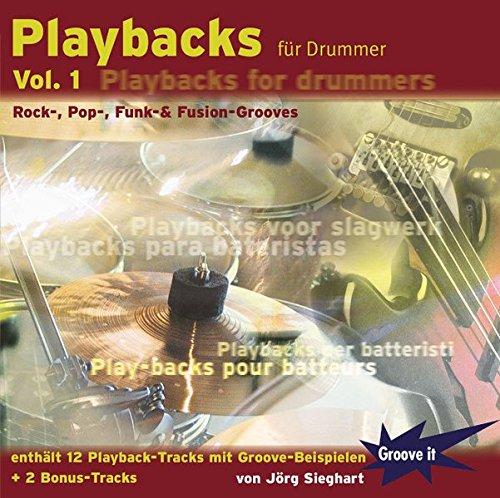 Playbacks für Drummer Vol. 1 - Playalong Übungs-CD für Schlagzeuger / Drums
