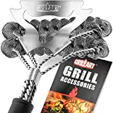 GRILLART Grill Brush Bristle Free & Scraper - Safe...