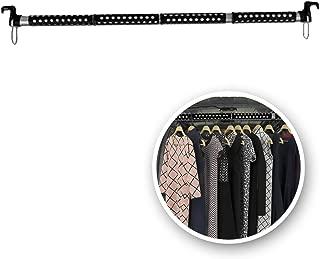 VaygWay Expandable Car Clothes Bar- Hanger Metal Storage Suit Rod-Car Hanging Closet Organizer Rack- Portable Seat Rack Universal Fit- Car Van Truck RV SUV Fit
