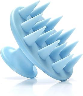 Deinppa Hair Scalp Massager Shampoo Brush Soft Silicone Brush Head
