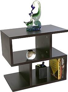 ComfyBean - Bed Side Table - Armin - Modern Design - Elegant Finish (Color : Dark Wenge)