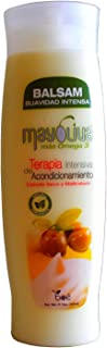 Mayoliva Intensive Conditioning Therapy for Dry & Damaged Hair, Balsam, 12 Ounce