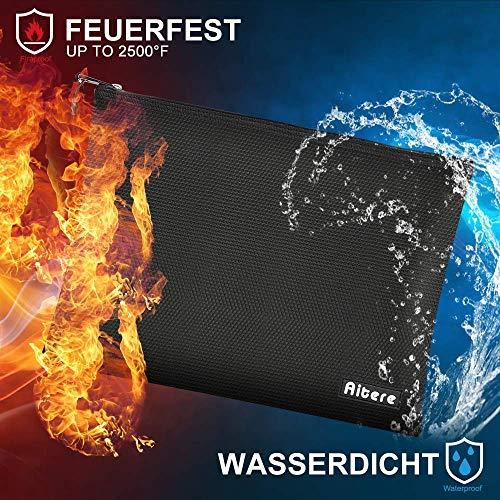 Aitere Feuerfeste Dokumententasche