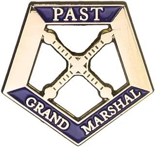 Hattricks Goodimpression OES Eastern Star Past Grand Marshal One Inch Jewel Lapel Pin