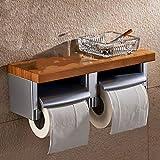 Zxwzzz Portarrollos Estante de Soporte del Papel higiénico Creativo baño cartones de Papel cartón Limpieza casa de Salud