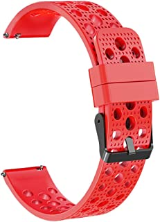 Watch Band,Cinhent Silicone Bracelet Strap Replacement for Samsung Galaxy Watch 46mm