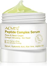 Peptide Complex Serum, Moisturizer Serum for Face&Neck Cream with Hyaluronic Acid & Vitamin E for Anti Aging Reducing Wrinkle, Boost Collagen Repair Skin, Suitable for all Skin Types (1 oz)