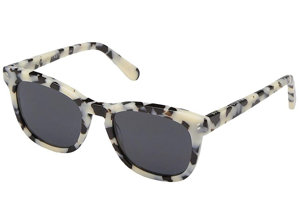 Stella McCartney SC0027O (White/Havana) Fashion Sunglasses