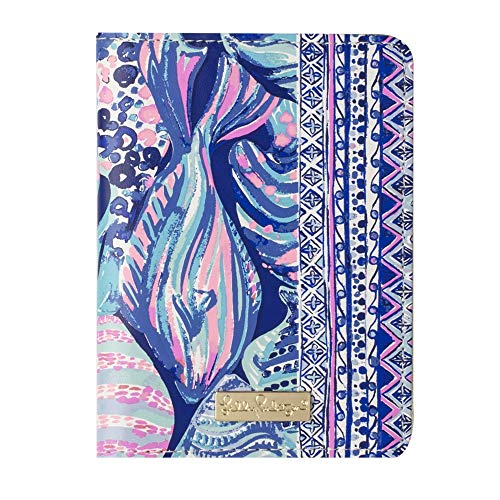 Lilly Pulitzer Passport Cover/Holder/Wallet with Card Slots, Scale Up