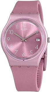 Swatch GP404 Datebaya Sun Brushed Pink Watch