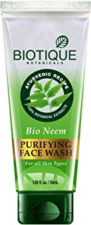 Biotique Neem Purifying Face Wash, 50ml