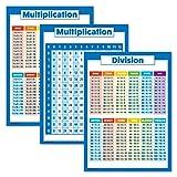 3er-Pack: Multiplikationstabellen + Divisionstabellen +