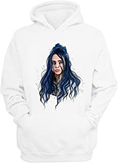 Picess Store Billie Eilish Hoodies Sweatshirt I Dont Wanna Be You Anymore Cotton Merch Blohsh for Women Mujer Lovely Auturm Hooded