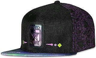 David Bowie Stars Purple Galaxy Snapback Hat