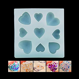 SEPTEMBER Jewelry Beading Casting Mold, DIY Handmade Silicone Mold, Clear Mold For Resin, Crystal ,Moon, Stars, Pony, Trojan Gift (11-Q017)