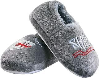 Boys Girls Memory Foam Bedroom Slippers Anti-Slip Cute Animals House Slippers Slip on(Toddler/Little Kid)