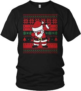 vanVerden Dabbing Ugly Christmas Santa Claus Dress DAP Xmas Strickmuster Weihnachtsmann - Weihnachten Geschenk - Herren T-Shirt und Männer Tshirt