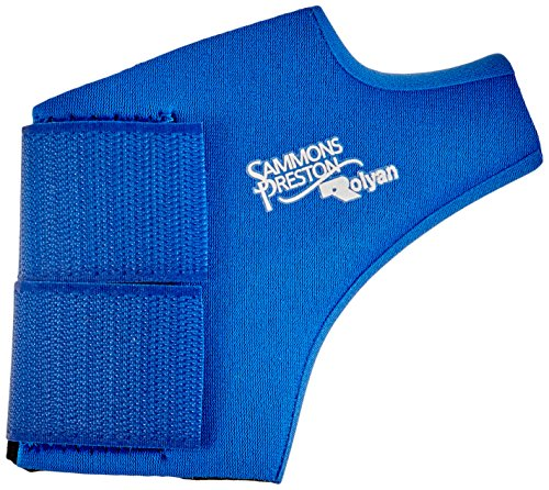 Rolyan - 80957 Neoprene Wrap On Thumb Support, Wrist Compression Sleeve, Thumb Support, Thumb Brace Maximum Hand Function, Brace Support for Thumb Sprains and Strains from Sports Injuries, Left, Small