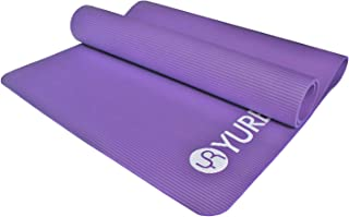 "YUREN Thick Yoga Mat for Men Extra Wide Long 72"" X 35"" XL Heavy Duty Yoga Pilates Cardio Strong Structure Comfort Home Gym..."