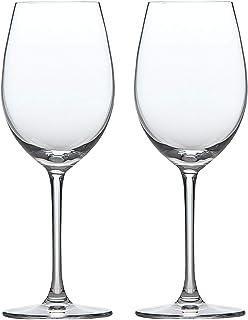 東洋佐々木ガラス ペアワイングラス クリア 355ml パローネ ファインクリスタルギフト 食洗機対応 G450-S51 2個入り