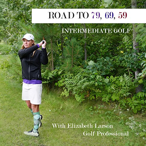 Elizabeth Larson Intermediate Golf DVD Instruction Lessons for Women Men Kids Instruction DVD Video