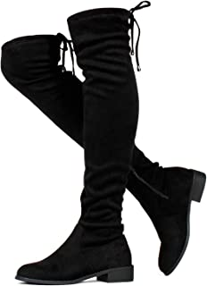 Women's Stretchy Over The Knee Riding Boots