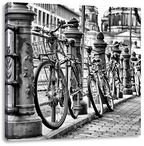 Bike Station, BMX-parcours spoorCanvas Foto Plein | Maat: 40x40 cm | Wanddecoraties | Kunstdruk | Volledig gemonteerd
