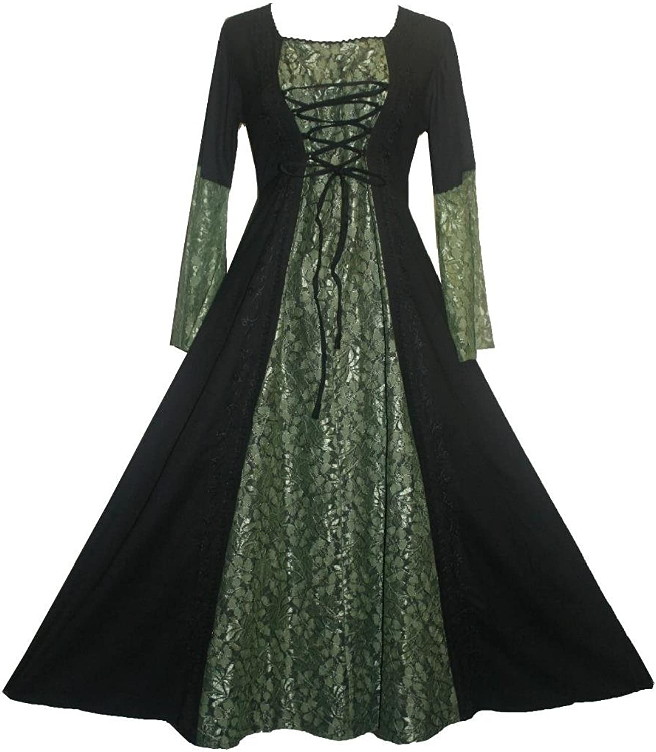 Agan Traders 007 DR Medieval Vampire Gothic Renaissance Dress Gown