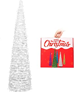 Best slim white christmas tree with lights Reviews