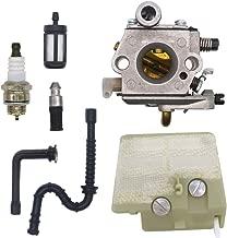 FitBest Carburetor Fits Stihl 024 026 024 026 Pro MS240 MS260 Gas Chainsaw WT-403B Carb