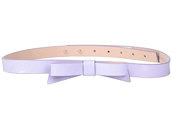 Kate Spade New York 19 mm Classic Bow Belt (Frozen Lilac) Women