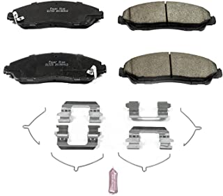 Power Stop 17-1723,  Z17 Front Ceramic Brake Pads with Hardware