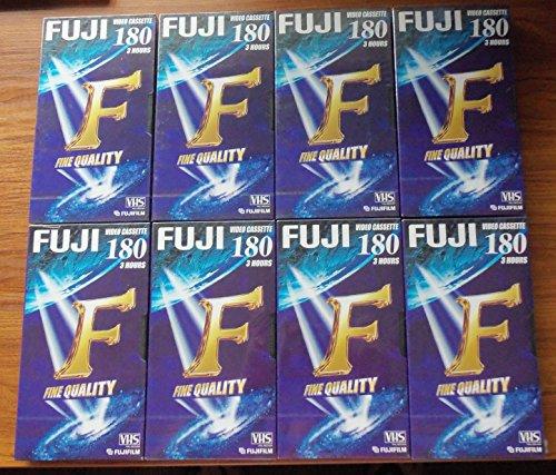 Fuji fine qualità E180 3 ore Blank videocassette