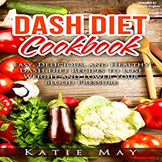 DASH Diet Cookbook cover art