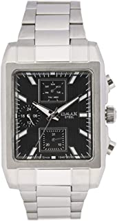 Omax Men's Casual Watch Stainless Steel Strap - 31SMP26I
