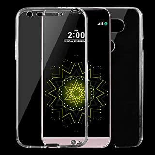 Mobile phone case For LG G5 0.75mm Double-sided Ultra-thin Transparent TPU Protective Case(Transparent) (Color : Transparent)