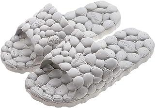 PROCHE Women/Men Summer Bath Slipper Hollow Indoor Sandal Anti-Slip Water Leakge Shower Shoes Breathable Odorless