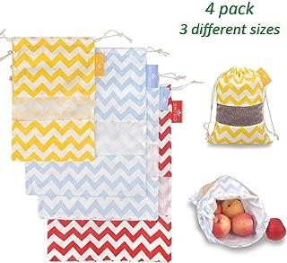 little cloth drawstring bags