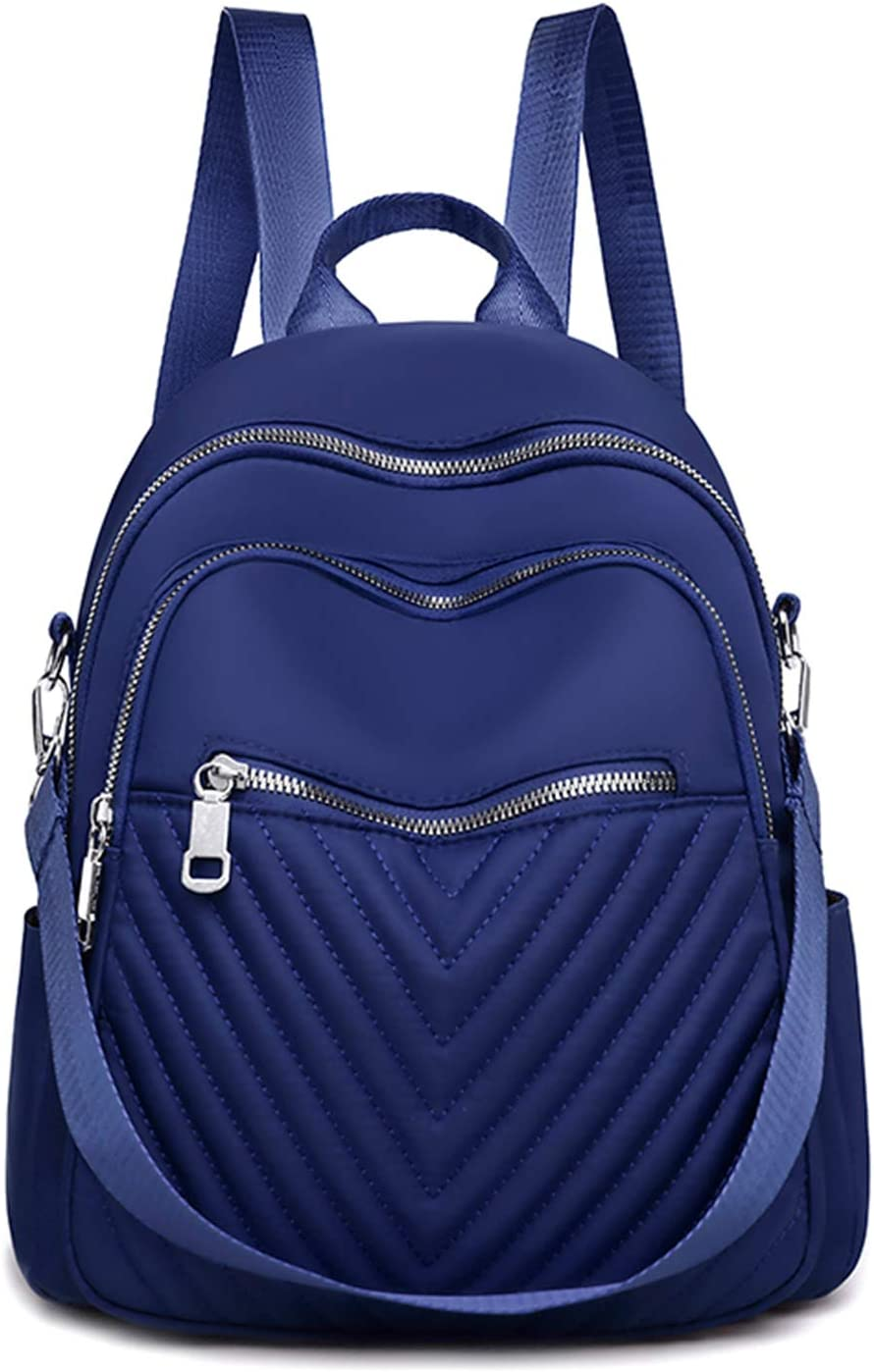 Kuang Women Fashion Mini Backpack purse Quilted f Now on sale Selling rankings Nylon