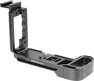 WEPOTO GP-Z7L Soporte de Metal para trípode de Agarre de Mano Placa de liberación rápida Soporte Vertical para Placa L para Nikon Z6/Z7