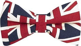 Union Jack Bow Tie, Mens Bowtie, Great Britain Bow Tie