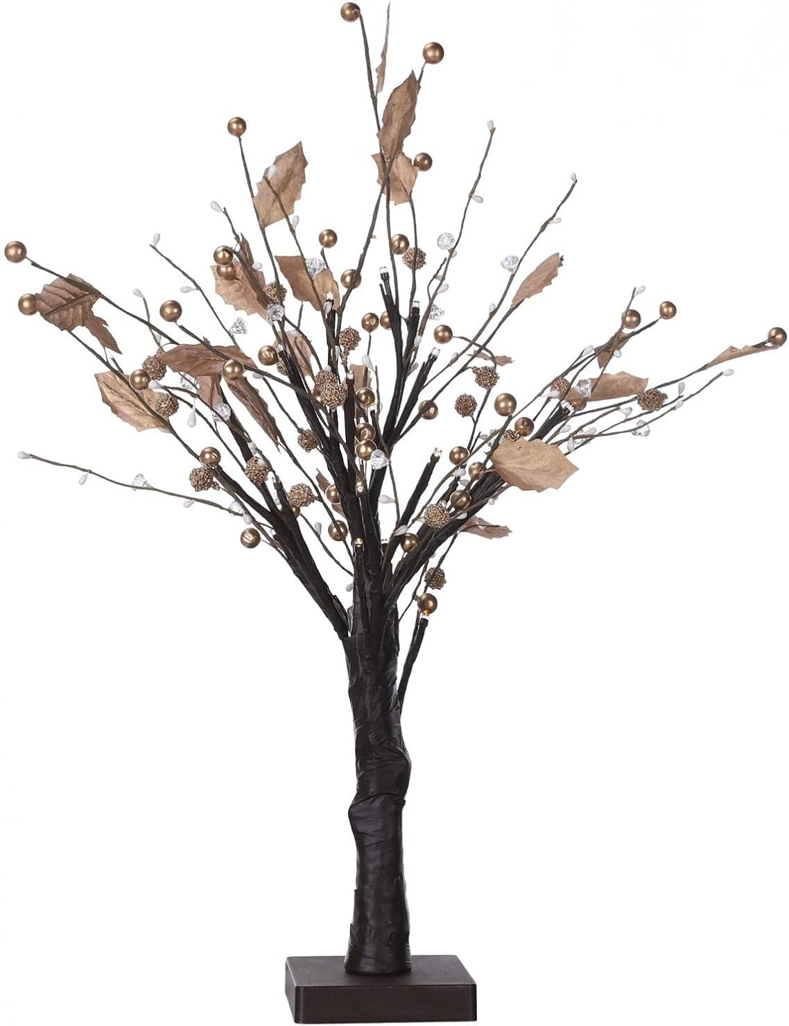 VICXYY Tree Lights Dotted free Super sale period limited with White Warm LED Cherries 24