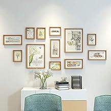 GJNVBDZSF Molduras para foto, molduras para fotos, 12 molduras, conjunto de molduras para galeria familiar, decoração de p...
