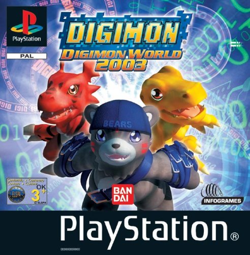 Playstation 1 - Digimon World 2003
