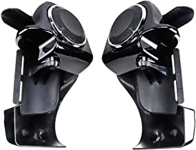 Lower Vented Leg Fairings, with 6.5 Inch Speakers for 1983-2013 Road Glide Street Glide Electra Glide