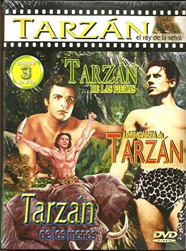 TARZAN DE LAS FIERAS - LA VENGANZA DE TARZAN - TARZAN DE LOS MONOS