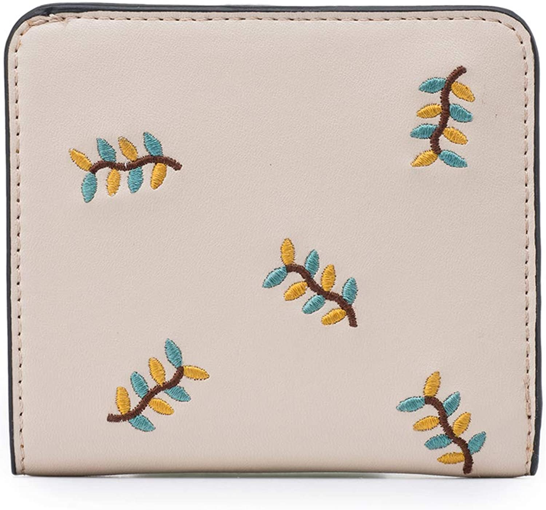 Brieftasche HuAma Damenmode Süße Kurze Mini-Geldbörse B07LDS6S96