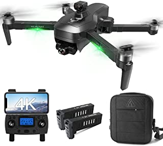 Drones with Camera for Adults 4K, LARVENDER 3937ft Long Range Professional 3-Axis Gimbal Drones...